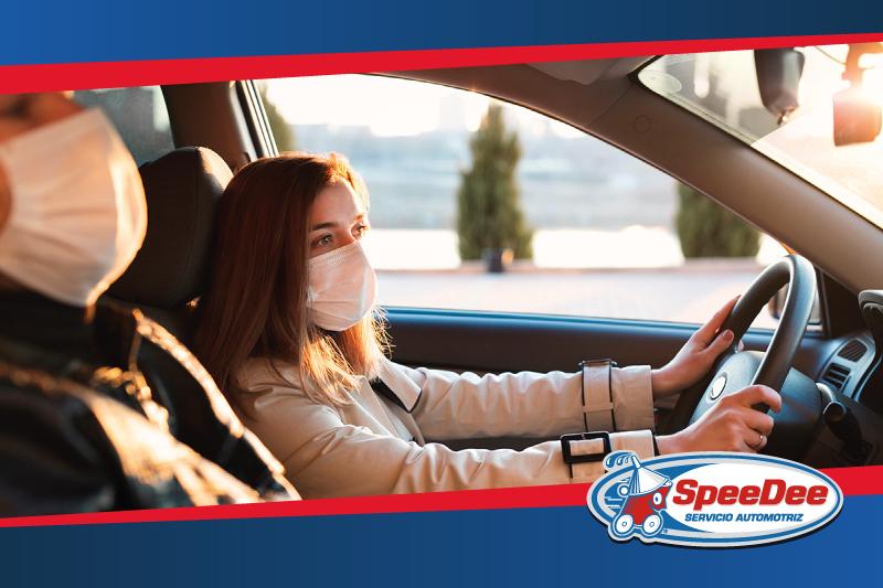 Tips para un viaje seguro en auto durante la pandemia